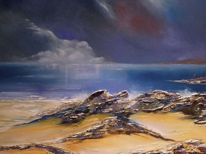 Brilliant Inclinations - Oil Seascape Painting