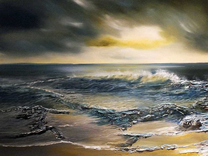 Beckoning - Oil Seascape Painting
