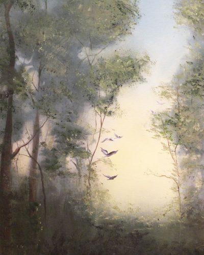 Larks Ascending by Elizabeth Williams