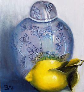 Ginger Jar and Lemon - Elizabeth Williams