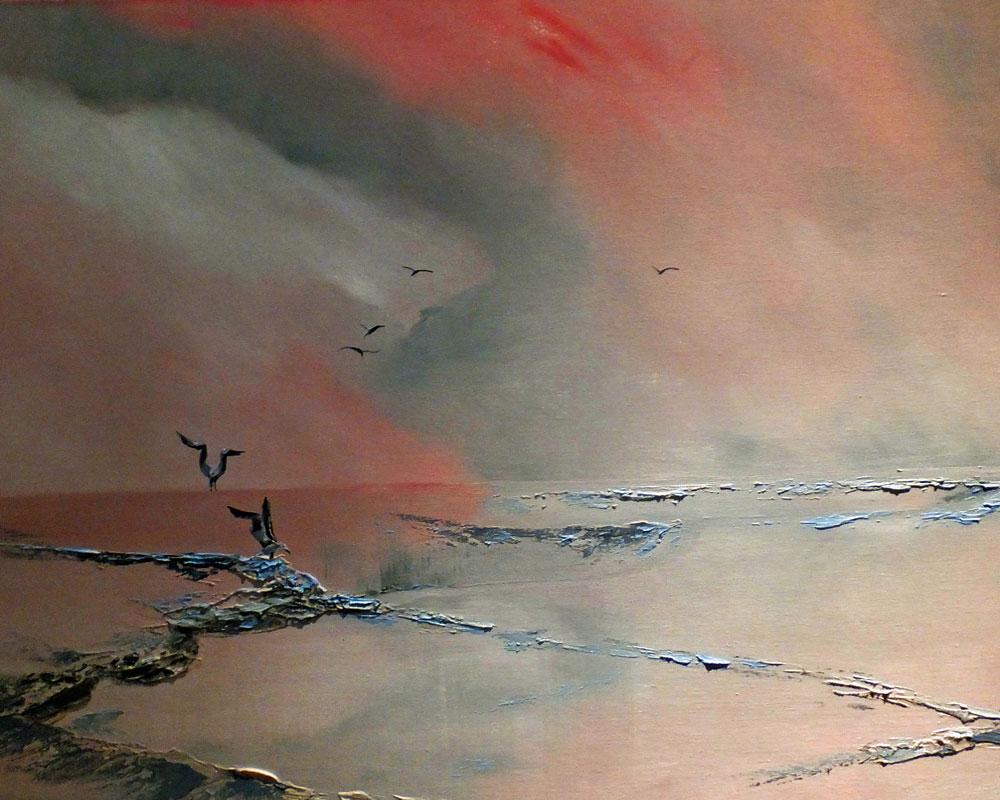 Taking Terns - Artist Elizabeth Williams