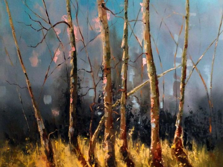 Ladies of the Woods (2) | Oil painting by Elizabeth Williams