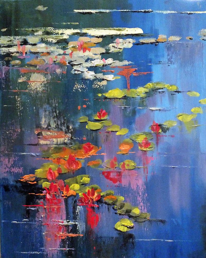 Water Lilies by Elizabeth Williams