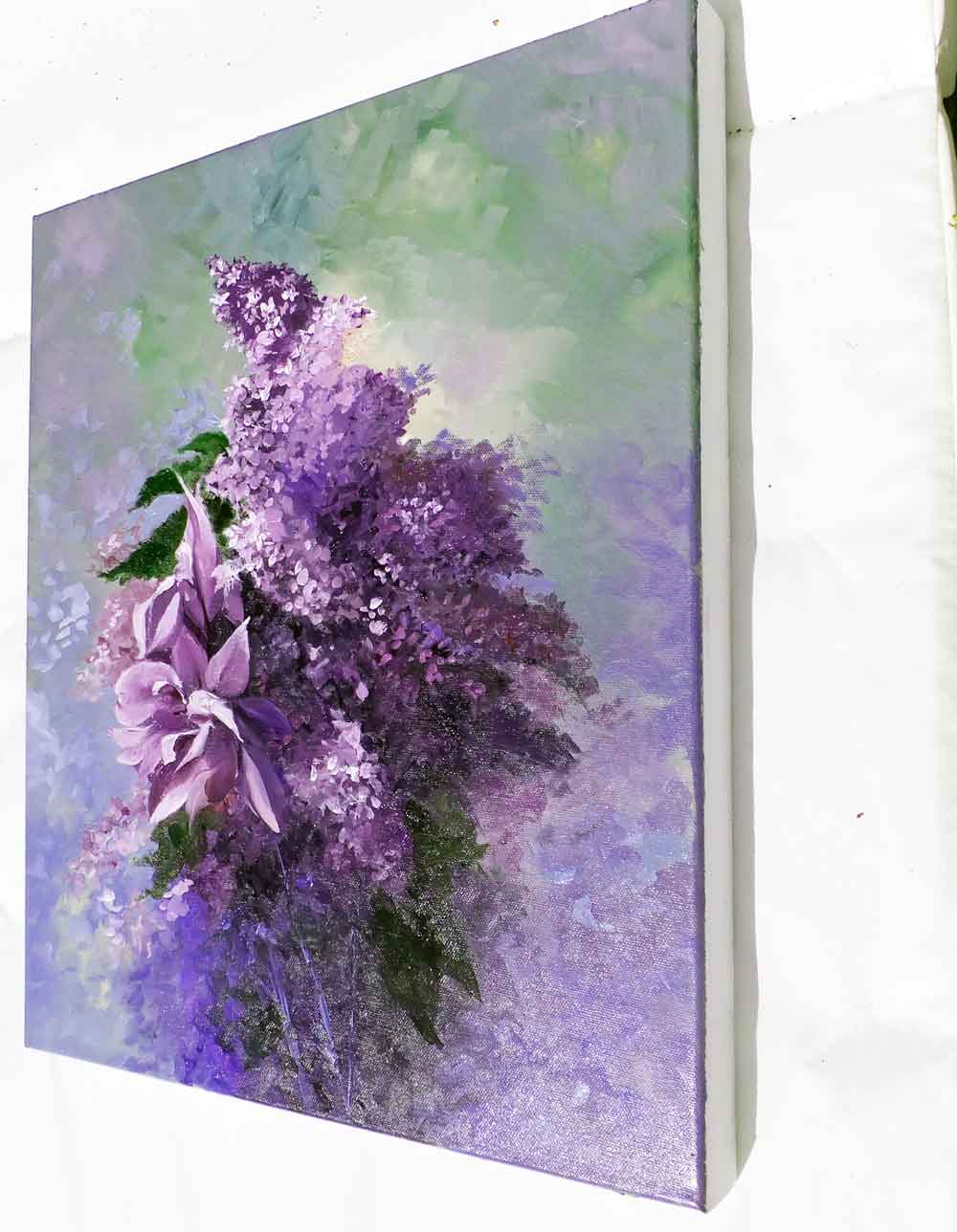 Iris and Lilacs (in situ)
