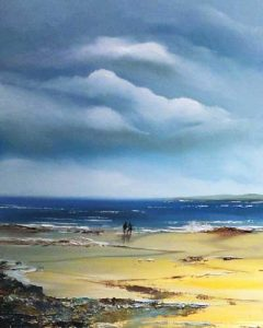 Southern Shores - Seascape oil painting