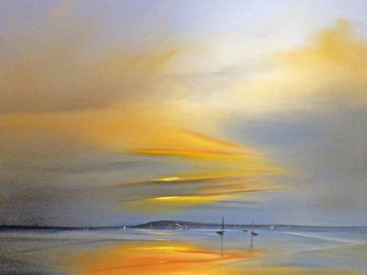 Sandbanks at Twilight