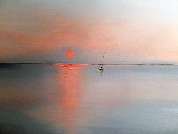 De Profundis - Ocean Oil Painting